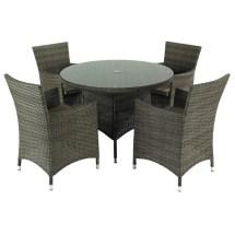 Hartman Bentley 4 Seat Dining Set - Hbenset02 Garden