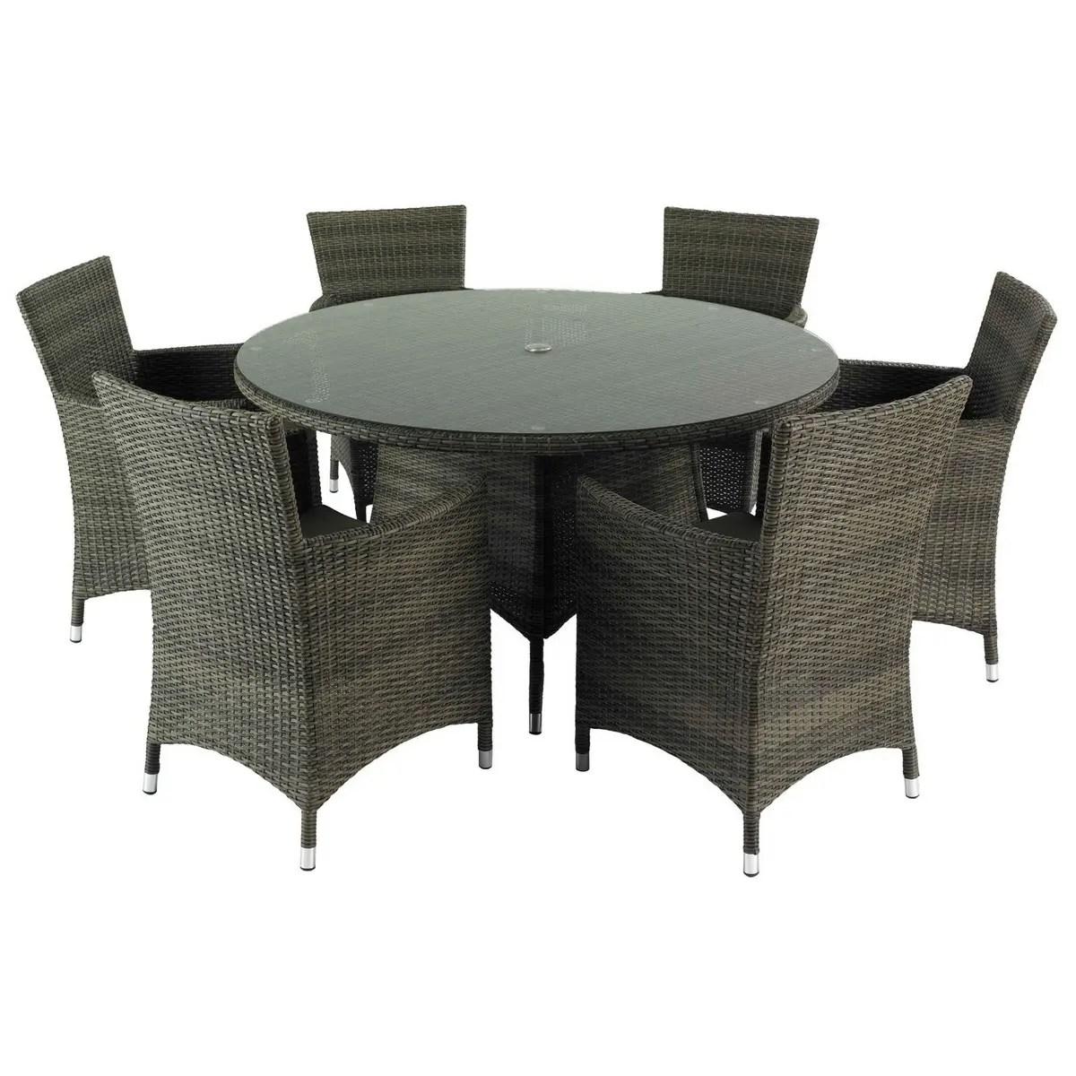 Hartman Bentley 6 Seat Dining Set HBENSET03 Garden Furniture World