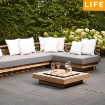 Life London Teak Set - Llonset01 Garden Furniture World