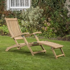 Teak Steamer Chair Cozee Home Covers Rhs Wisley 0896611 8001 Garden