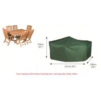 Bosmere Rectangular Patio Set Cover 6 Seat - (P030 ...