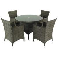 Hartman Bentley 4 Seat Dining Set - (HBENSET02) - Garden ...