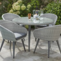 Hartman Sienna 4 Seat Table Set Weatherready
