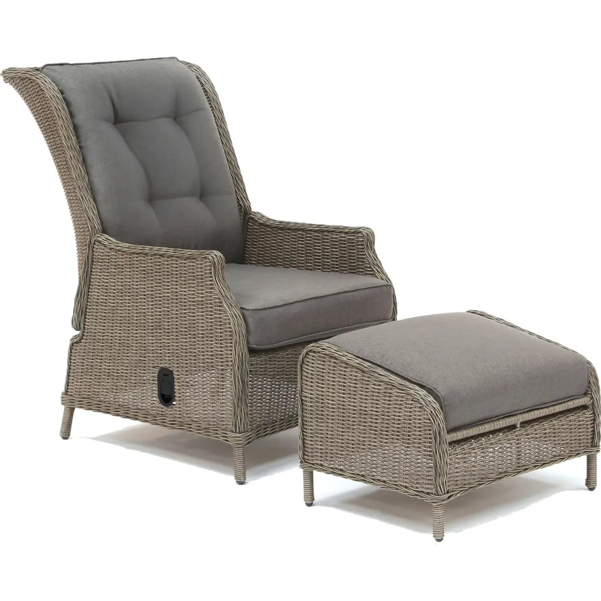 kettler classic recliner and footstool
