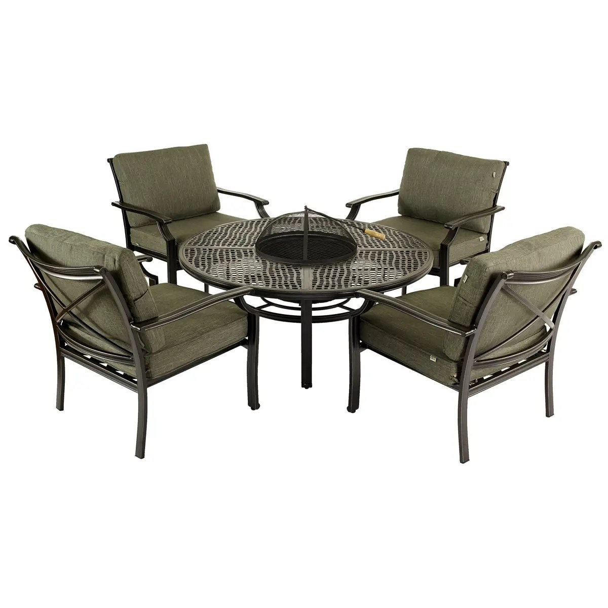 Fire Pit Table And Chairs Set Jamie Oliver Fire Pit Set Pesto 60773131 Garden