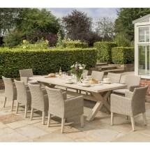 Kettler Cora 10 Seat Dining Set - Coraset01 Garden