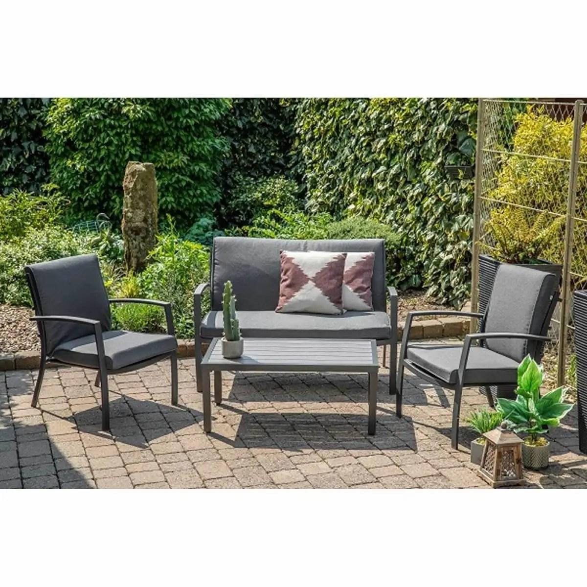 lg outdoor milan lounge set - mlnset10