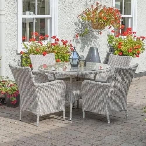 lg outdoor monaco 4 seat dining