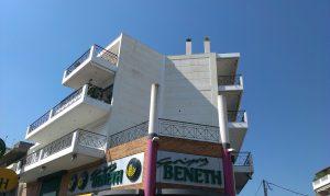 Επισκευή κτιρίου στην Αργυρούπολη