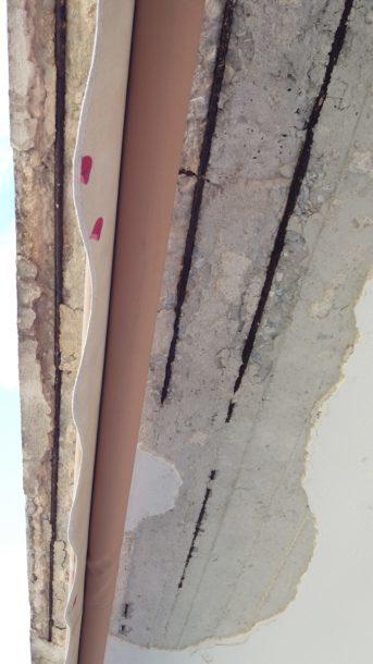 σαθρές οροφές μπαλκονιών