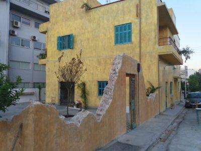 Ανακατασκευή κτιρίου cafe bar madania