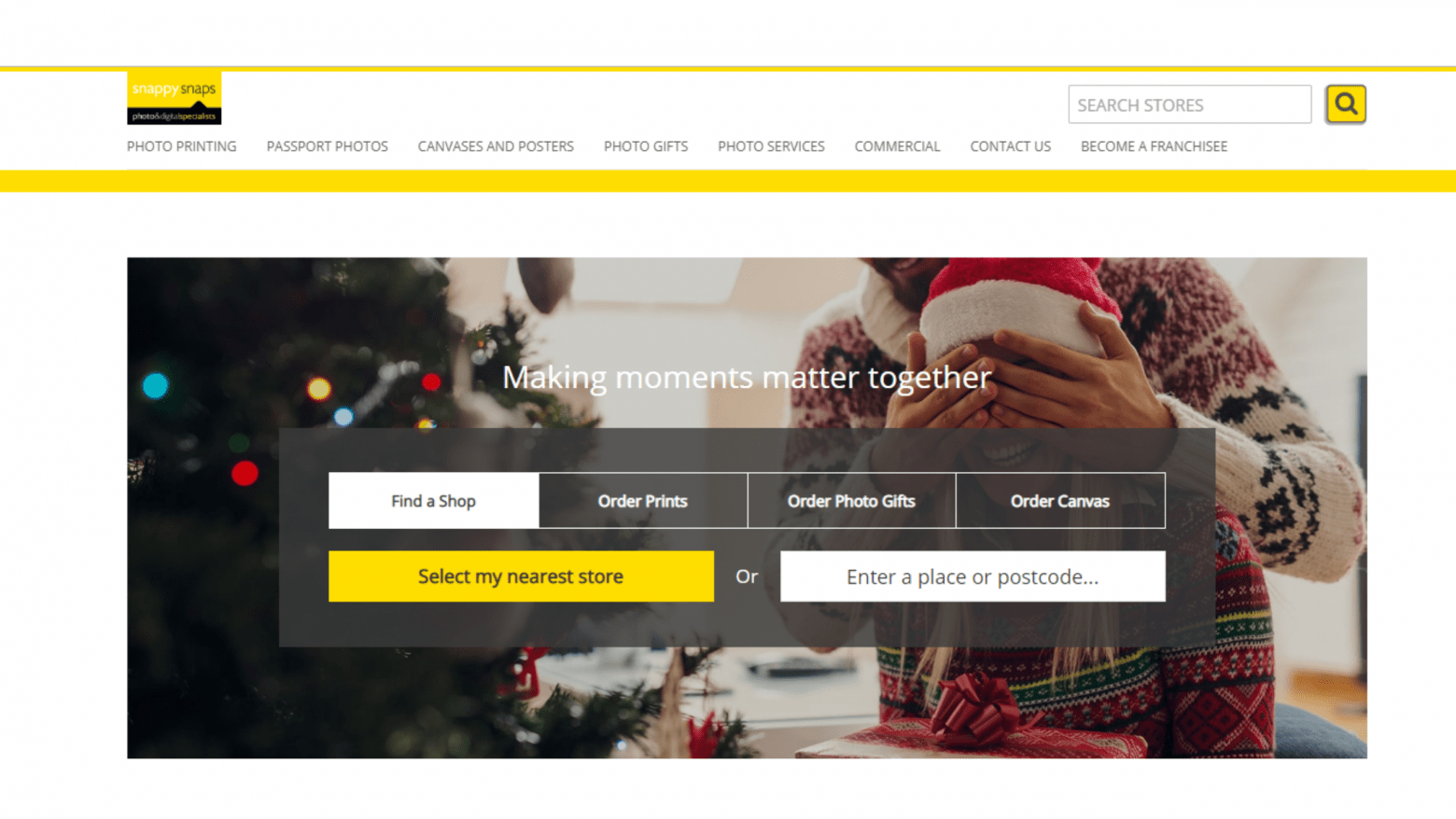 Snappy Snaps Website