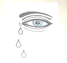tears pen