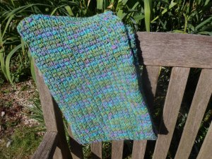 The Mathlete Cowl – a Free Tunisian Crochet Pattern