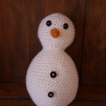 Simple Amigurumi Snowman