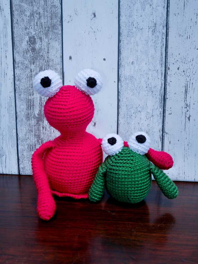 Amigurumi monsters