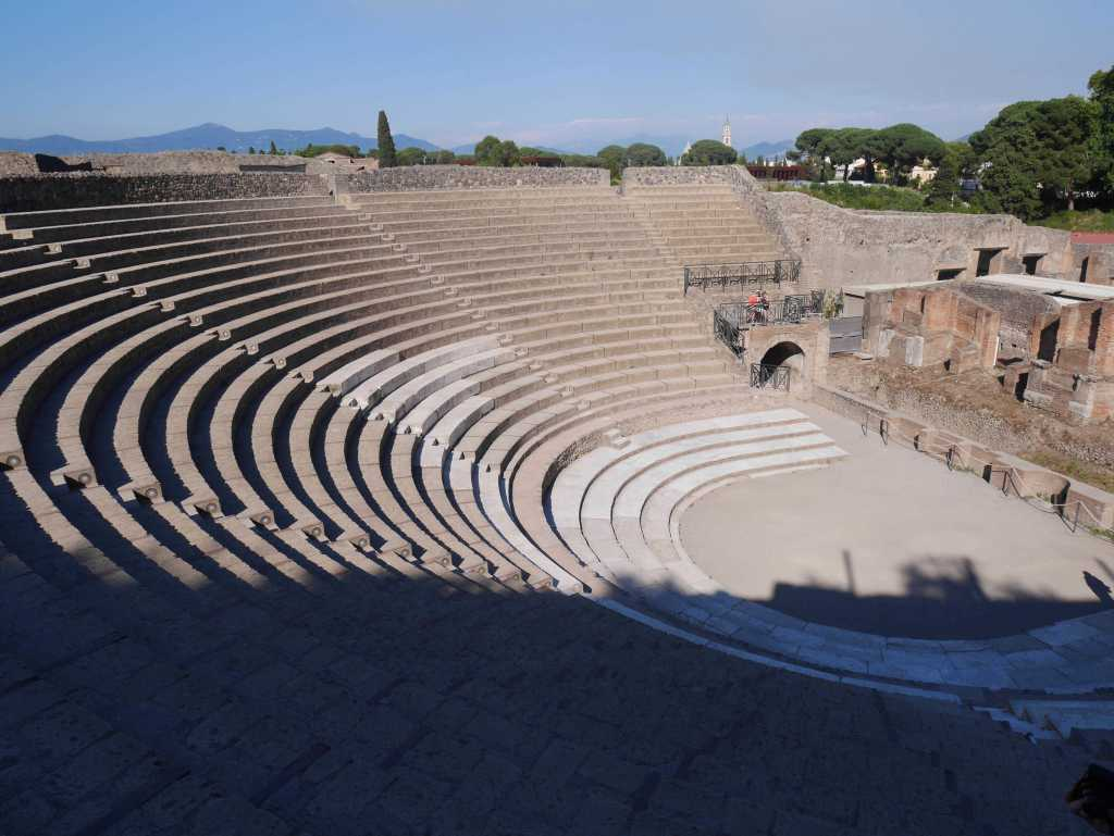 Theatre in Pompeii, Italy