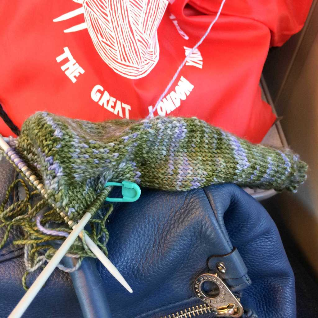 Turning the heel on the train