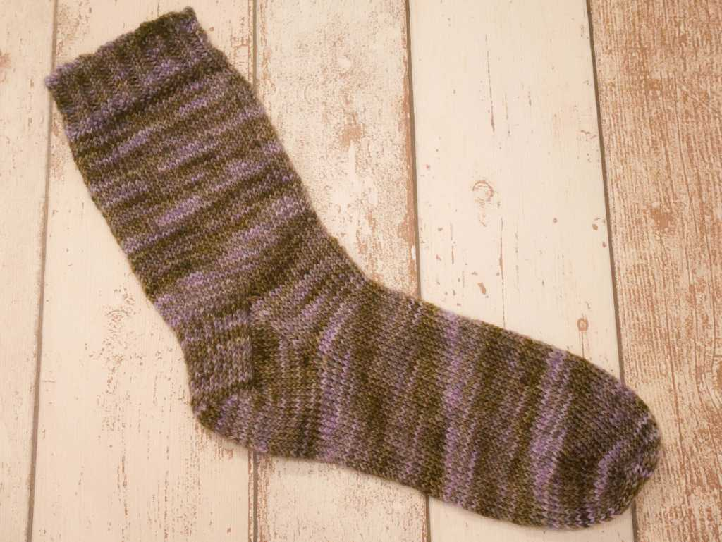 My first knitted sock!