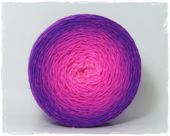Wollelfe gradient yarn - ultraviolet