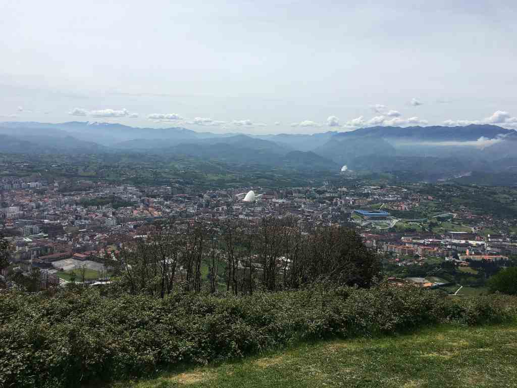 Views of Oviedo from Monte Naranco