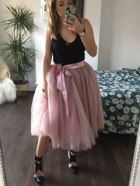 Antique Rose Midi Tulle Tutu Skirt - Elsie's Attic