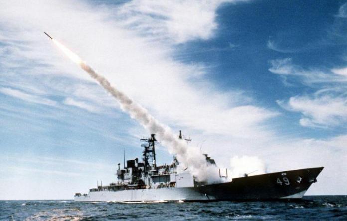 Resultado de imagen para Fotos de el crucero estadounidense Vincennes