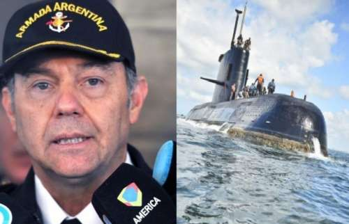 Renunció el  contraalmirante de la Base Naval de Mar del Plata