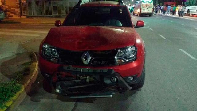 Una joven murió tras ser atropellada por una camioneta