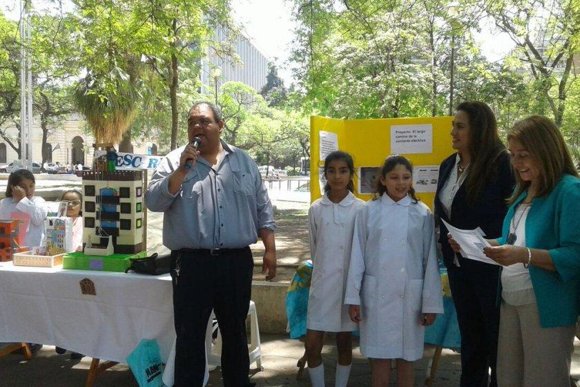 """Se realizó en plaza Urquiza la muestra """" Lo que aprendemos en Tecnología"""""""