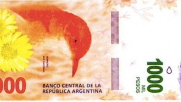 Billetes de $ 1.000 pesos circularán desde diciembre