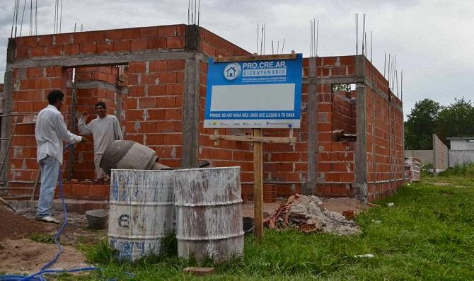 Cómo se implementará el Procrear para comprar viviendas en pozo