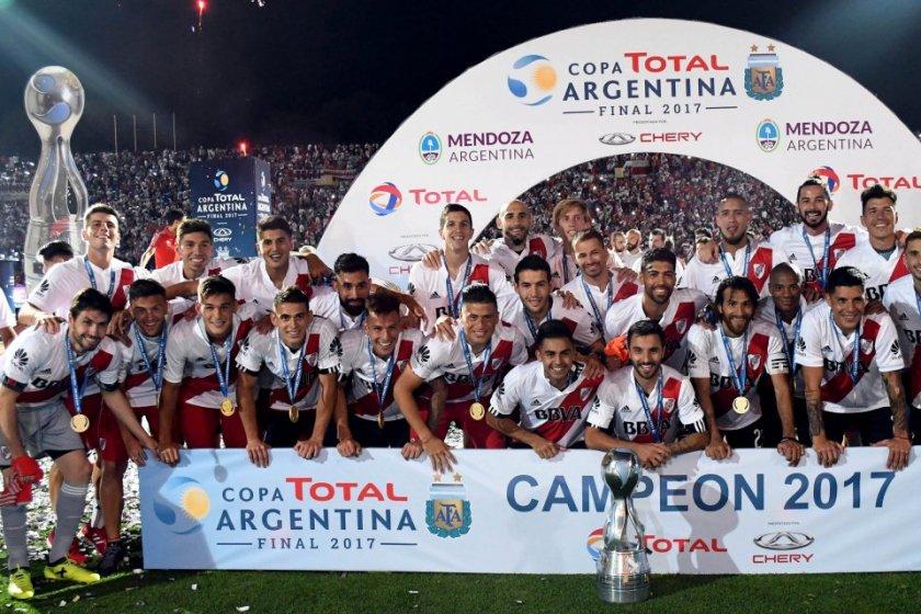 River Plate Bicampeón de la Copa Argentina