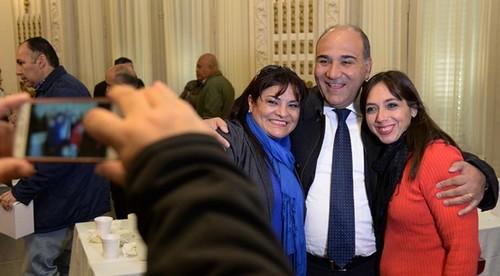 El gobernador Manzur agasajó por adelantado a los periodistas tucumanos por su día