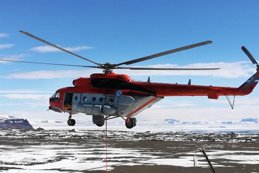 (VIDEO) Los equipos de rescate continuan avanzando hacia la posición donde esta el helicoptero