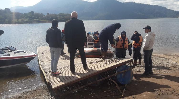 """"""" Tragedia en El Cadillal"""" : Encontraron el cuerpo de Facundo Jiménez"""