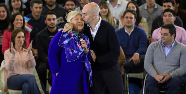""""""" NO TAN HONESTA """" : Elisa Carrió financió su campaña con empleados públicos de la Ciudad"""