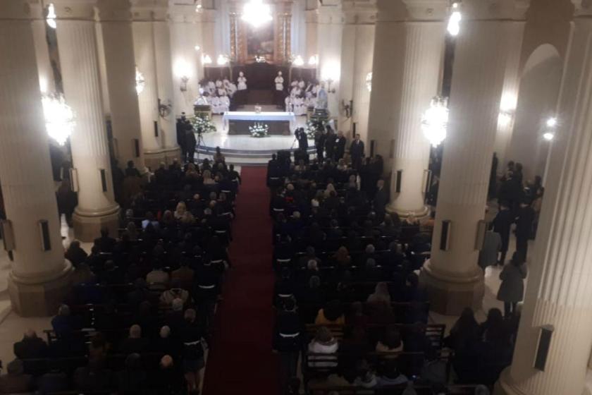 La vicepresidente Michetti y el gobernador Manzur participaron del solemne Tedeum