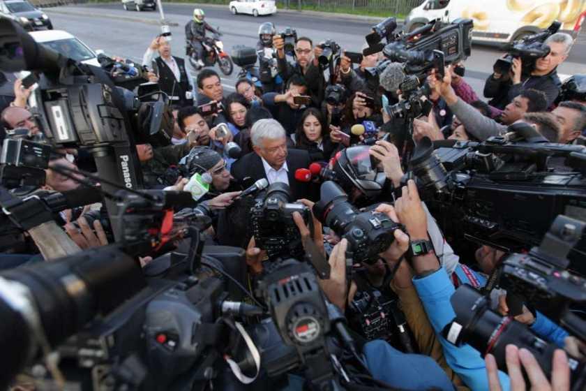 Elecciones en Mexico: Andrés Manuel López Obrador, ya emitió su voto