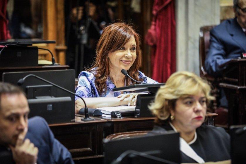 Cambiemos no logro quórum en el Senado para tratar el desafuero de Cristina Kirchner