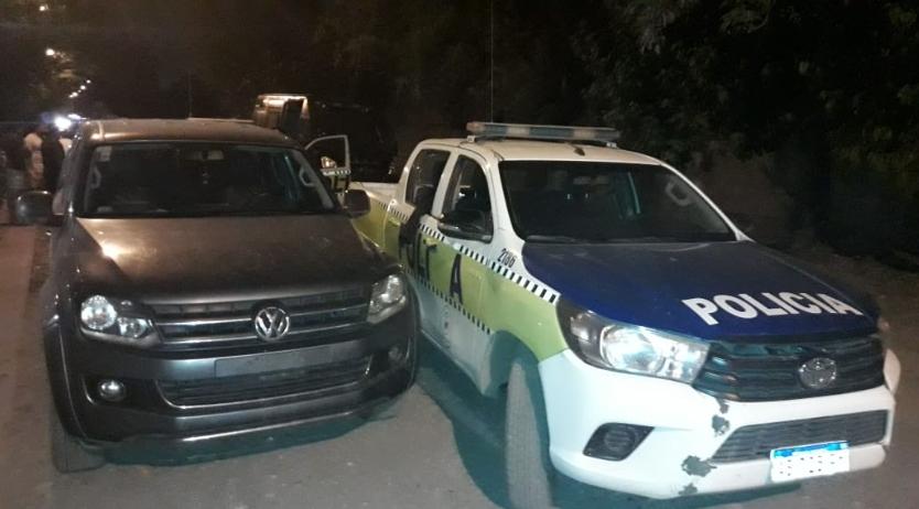 La Policía logro recuperar una camioneta robada y detuvieron a un hombre