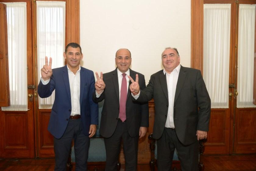 Manzur se reunio con candidatos en casa de gobierno