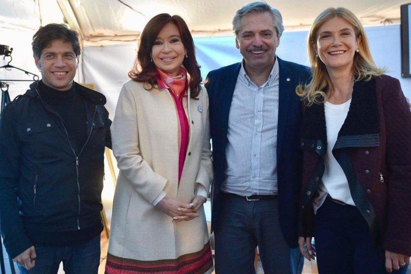 Cristina eligió la fórmula Kicillof-Magario para la provincia  de Buenos Aires
