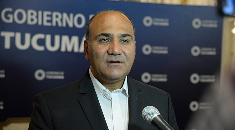 """El gobernador Manzur, sobre el paro del 29: """"la CGT se expresa porque la situación económica no aguanta más"""""""