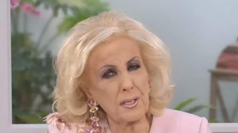 Mirtha Legrand internada