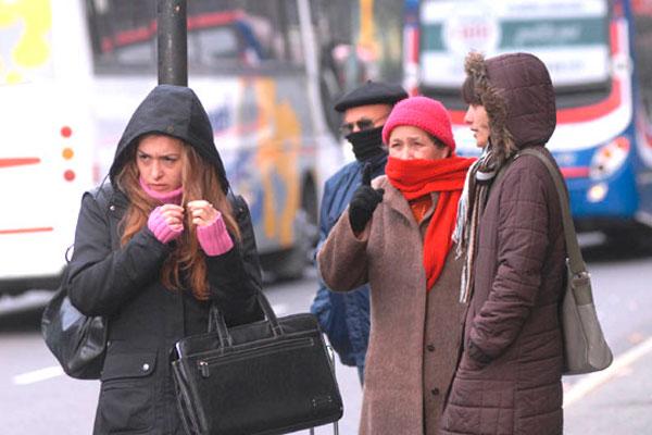 """""""ABRIGATE """" , hoy con 2° será el día más frío en lo que va del año"""