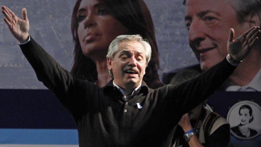 El precandidato presidencial Alberto Fernández advirtió que si gana revisará acuerdos que firmó Mauricio Macri, como el de Mercosur-UE