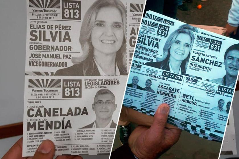 El Frente Vamos Tucumán denunció la falsificación de votos en Concepción
