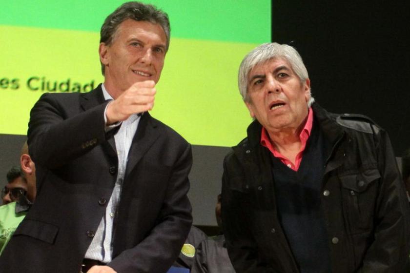 """Moyano le respondió al presidente Macri: """"Es un descerebrado, un incapaz"""""""