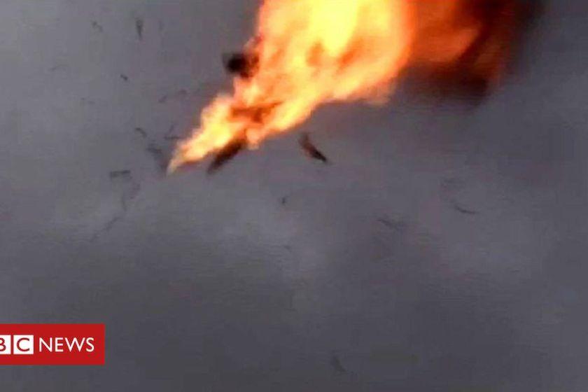 TENSION: EEUU derribó un drone iraní en el Estrecho de Ormuz